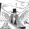 黒ひげ海賊団のラフィットはトリトリの実の能力者? それともヒトヒトの実の幻獣種の能力者?