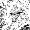 """悪魔の実図鑑 102ページ 【リュウリュウの実 モデル""""アロサウルス""""】"""