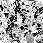 """悪魔の実図鑑 106ページ 【ヘビヘビの実 モデル""""八岐大蛇""""】"""